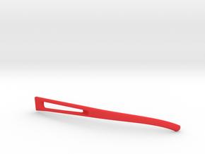 Vanderpool VisionSPEC2,3,4 Left Temple VER0 REV2 in Red Processed Versatile Plastic