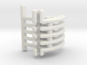 Korbanth / Parks LS6 - Master Var1 Part3 in White Premium Versatile Plastic