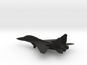 MiG-35 Fulcrum-F in Black Natural Versatile Plastic: 1:200