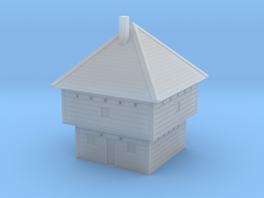 Frontier Blockhouse 6mm in Smooth Fine Detail Plastic