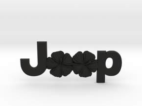 #CuzitsCustom Island Flowers (LG-OEM) in Black Natural Versatile Plastic