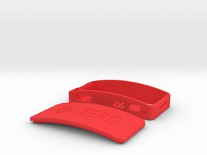 Raspberry Pi Zero Wi-Fi Case in Red Processed Versatile Plastic
