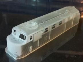 N-Scale Hr12 in Smooth Fine Detail Plastic