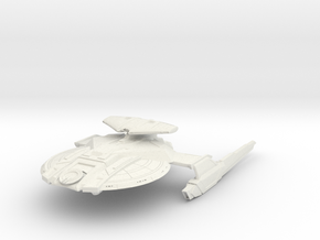 Alt Federation Hawk Class HvyDestroyer in White Natural Versatile Plastic
