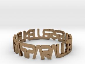 """The Parallelkeller """"Round'N'Round"""" Var03 in Natural Brass: 6 / 51.5"""