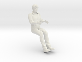 Printle V Homme 1057 - 1/20 - wob in White Natural Versatile Plastic