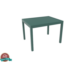 Miniature IKEA Klivarp Table - IKEA in White Strong & Flexible: 1:12