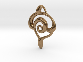 Snakes in Natural Brass