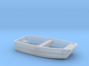 Nbat20 - Small plastic boat in Smoothest Fine Detail Plastic