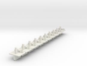 10xBraidGuide R2 RacingEdition in White Natural Versatile Plastic