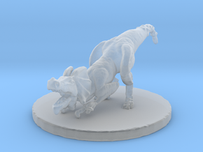 Jaggi (#3) (Medium Beast) in Smooth Fine Detail Plastic