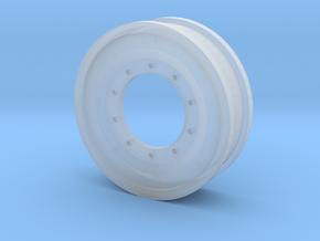 M1A2 wheels Abram's in Smooth Fine Detail Plastic