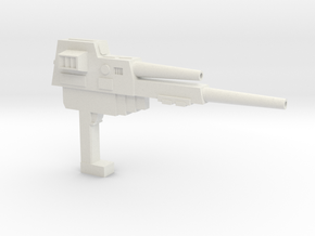 KALECGOS Gun in White Natural Versatile Plastic