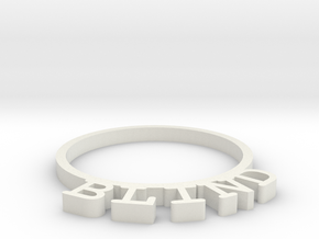 D&D Condition Ring, Blind in White Natural Versatile Plastic