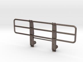 Bull bar Tamiya 1:14 Mercedes NG and SK 1838 / 185 in Polished Bronzed Silver Steel