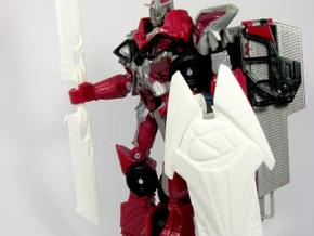 DOTM voyager Sentinel Prime weapon set in White Processed Versatile Plastic