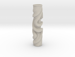 Vase 078Totem in Natural Sandstone