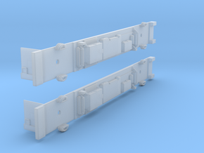 NSC1 - Siemens M Car Chassis Set in Smooth Fine Detail Plastic