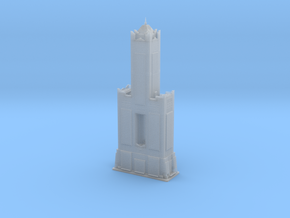 85 Sky Tower (1:2000) in Smooth Fine Detail Plastic