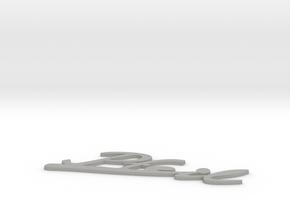 Pfeil in Aluminum