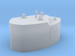 1/144 DKM Bismarck Cabin 7m Rangefinder in Smooth Fine Detail Plastic