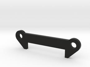 TLR 22 Front Arm Shim (1.0-4.0) in Black Natural Versatile Plastic