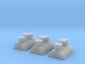 1/144 DKM Winch Aft Set in Smooth Fine Detail Plastic