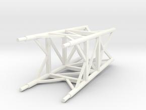 Hyatt Apollo LES Tower Lower 1:40 No Skirt WSF in White Processed Versatile Plastic