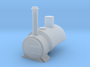 009 'Tiny Trains' Saddle tank in Smooth Fine Detail Plastic