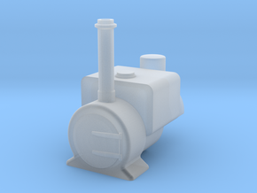 009 'Tiny Trains' Wren tank in Smooth Fine Detail Plastic