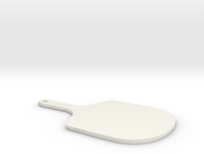 Pizza Peel in White Natural Versatile Plastic