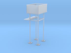 OO9 Water Tower in Smooth Fine Detail Plastic