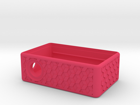 MM Mech Squonk Box (18650) Dinky Cuboid Design in Pink Processed Versatile Plastic