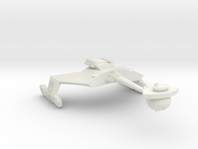3125 Scale Romulan KRC Command Cruiser (Smooth) WE in White Natural Versatile Plastic