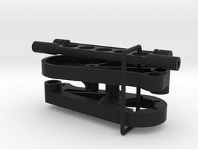 045009-02 AMPro Hornet Lower Rear Suspension Mount in Black Natural Versatile Plastic