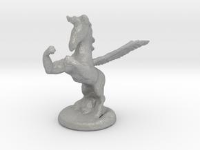 Wada Fu , The Flying Fighting Unicorn™ (small) in Aluminum