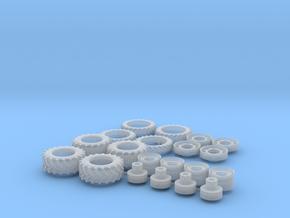 H0 1:87 Reifen Doppelbereifung in Smoothest Fine Detail Plastic