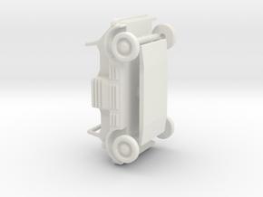 DAF-139 1:87 - H0 in White Natural Versatile Plastic