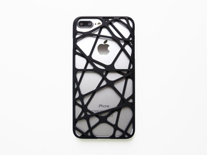 iPhone 7 & 8 Plus Case_Cross in Black Natural Versatile Plastic