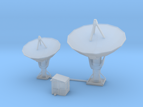 Radio Based Transmission Site in Smooth Fine Detail Plastic