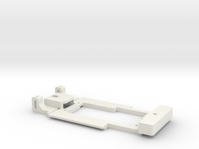 Carrera Universal Chassis Sideway for 132 E21 320  in White Natural Versatile Plastic