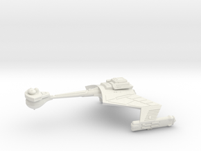 3125 Scale Klingon D7VK Refitted Strike Carrier WE in White Natural Versatile Plastic