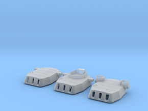 "1/200 16""/45 MKI HMS Rodney Turrets 1942 in Smooth Fine Detail Plastic"