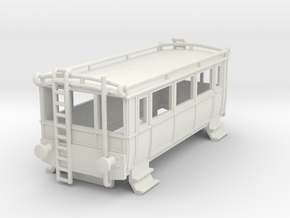 o-87-wcpr-drewry-small-railcar-1 in White Natural Versatile Plastic