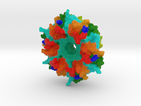 Carboxysome Subunit CcmK1 in Full Color Sandstone