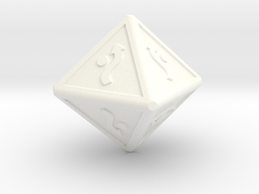 x-wing defence dice in White Processed Versatile Plastic