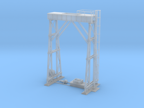 Crane Railroad z scale in Smooth Fine Detail Plastic