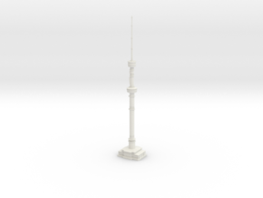 Almaty TV Tower (1:2000) in White Natural Versatile Plastic