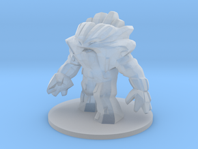 Earth Elemental in Smooth Fine Detail Plastic