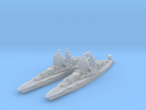 New Mexico class battleship in Smooth Fine Detail Plastic
